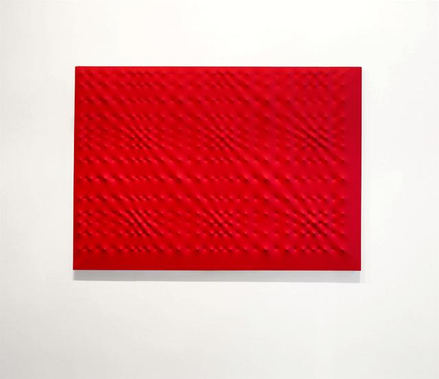 , 'Superficie rossa,' 1999, Galleria Fumagalli