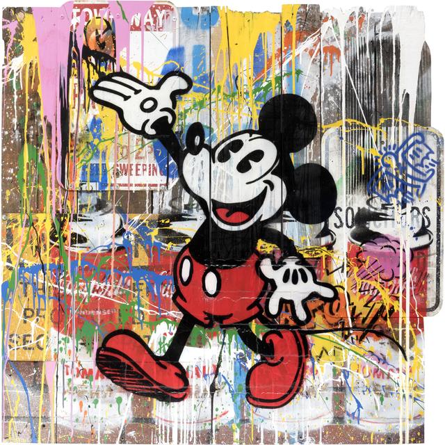 Mr. Brainwash, 'Mickey', 2018, Taglialatella Galleries