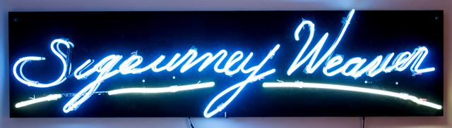 , 'Sigourney Weaver ,' 2015, Galería Karen Huber