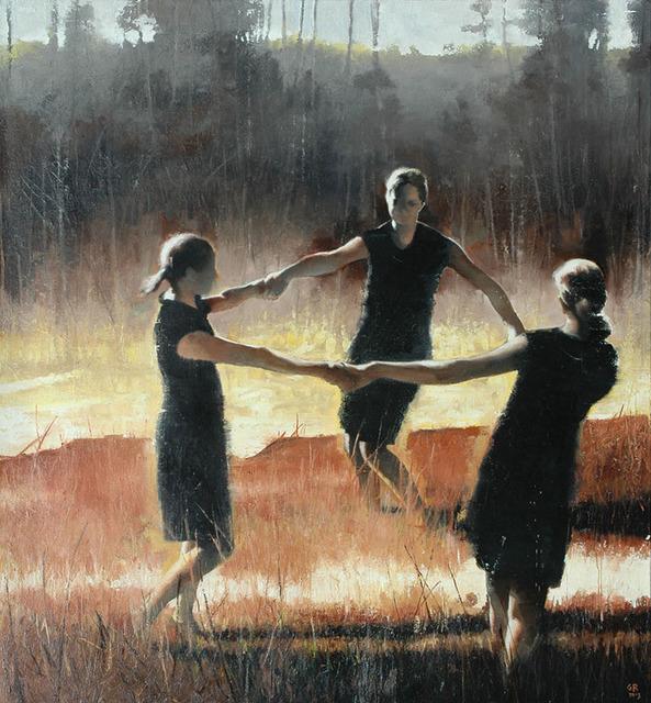 Gary Ruddell, 'Three Graces in Yellow Ochre', 2012, Dolby Chadwick Gallery