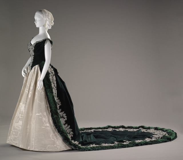 Charles Frederick Worth, 'Imperial Russian court dress', ca. 1888, Indianapolis Museum of Art at Newfields