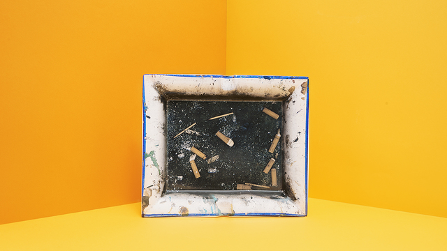 , 'Balthus's Ashtray,' 2015, WE DO NOT WORK ALONE