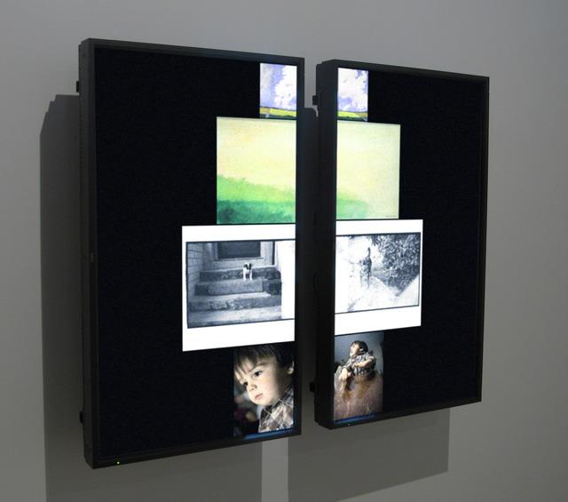 Siebren Versteeg, 'Diptych', 2009, bitforms gallery