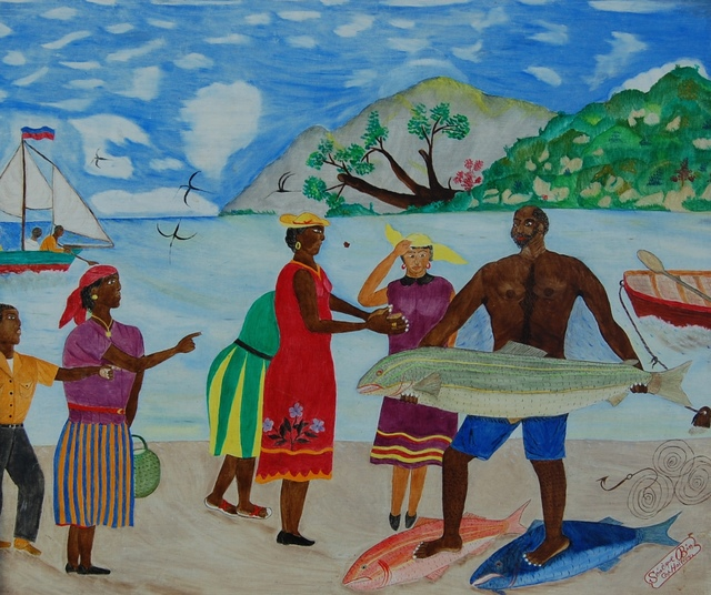 , 'Fisherman's Catch,' 1952-1955, ZQ Art Gallery