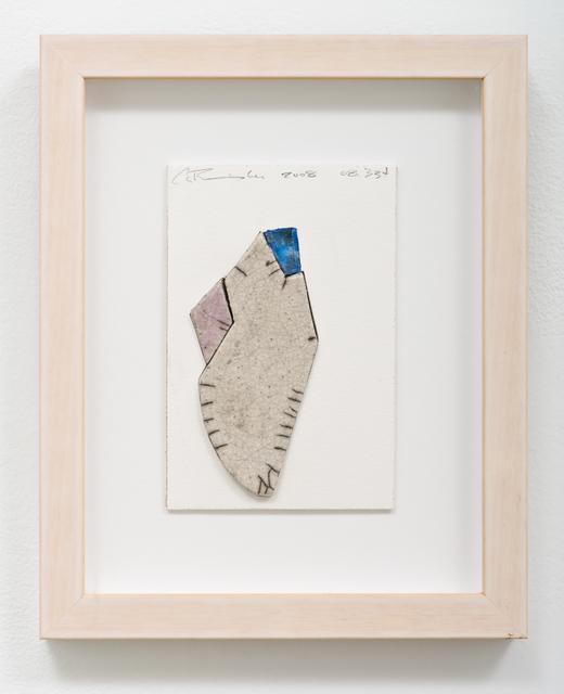 , 'raku w/c 08.334,' 2008, Lora Reynolds Gallery