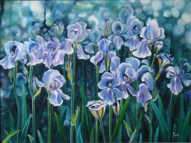 , 'Iris,' 2005, A-Art Shengzan Gallery