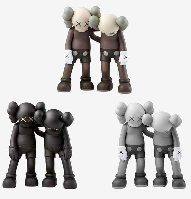 KAWS, 'Along the Way (set of 3)', 2019, Lougher Contemporary Gallery Auction