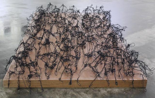 , 'Sitting Strike II,' 2017, Salwa Zeidan Gallery