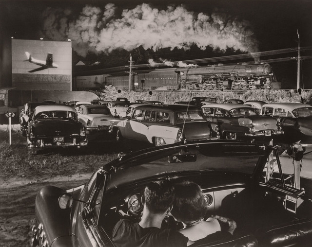 O. Winston Link, '[Hot Shot Eastbound, Iaeger Drive-in, Iaeger, West Virginia, August 2, 1956]', Doyle