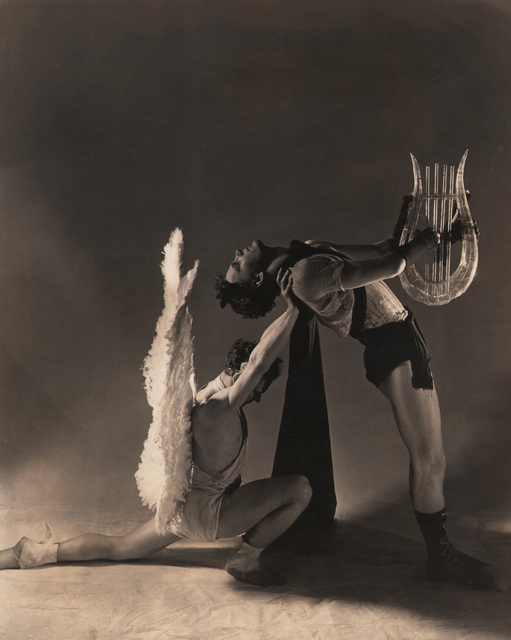 George Platt Lynes, 'Apollo & the Muses, Lew Christensen & William Dollar, Balachine's Orpheus & Eurydice', 1936, Keith de Lellis Gallery