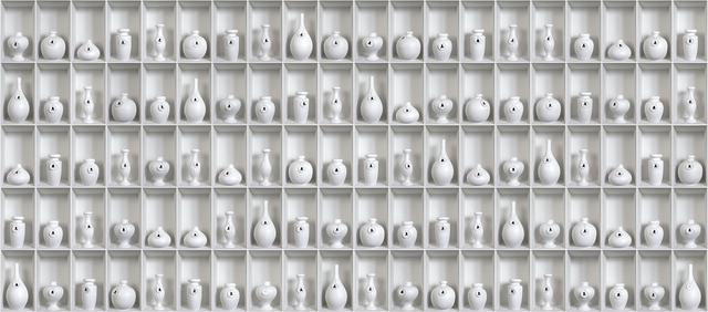 , 'Halito Divino- White Vessels,' 2013, Nohra Haime Gallery