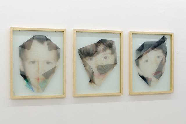 , 'Voiles 1, 2, 3,' 2013, Baró Galeria
