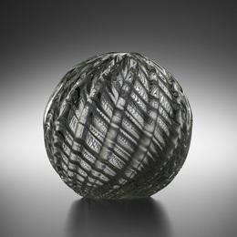 Spherical Diamante vase, model 3638 A