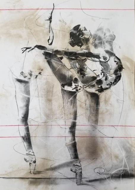 , 'Technical Movement Sketch 24,' 2019, ARTsouthAFRICA