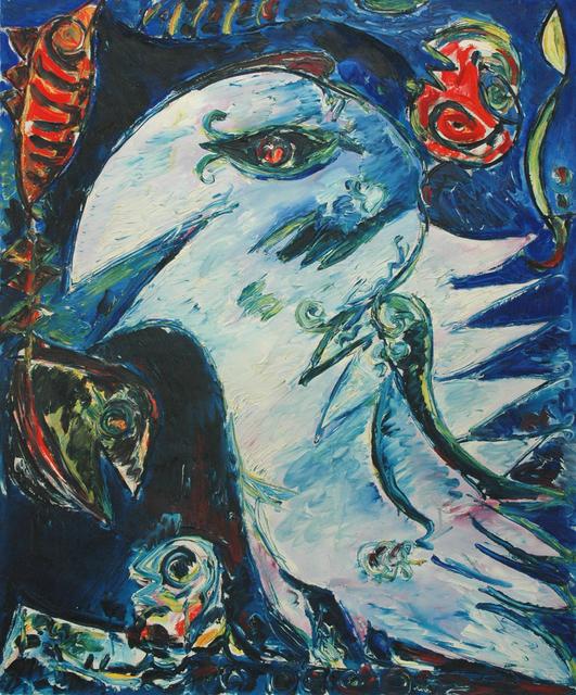 , 'Lys blå fugl,' 1976, DIE GALERIE