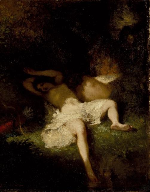 Jean-François Millet, 'Diana Resting', ca. 1845, Los Angeles County Museum of Art