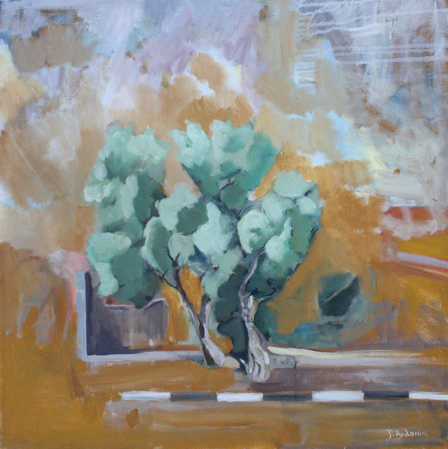 , 'Olive Tree by the Road,' 2013, Al Ma'mal Foundation for Contemporary Art