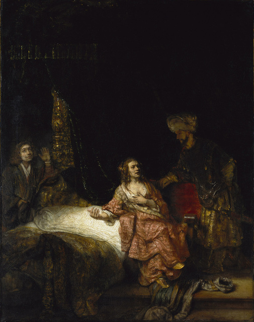 Rembrandt Harmensz. van Rijn, 'Joseph and Potiphar's Wife,' 1655, The National Gallery, London