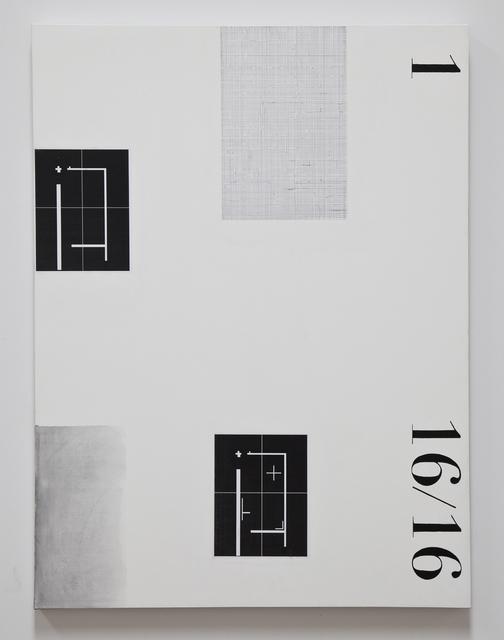 , '11616,' 2016, Kohn Gallery