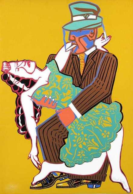 Red Grooms, 'Mango Mango', 1973, Kunzt Gallery