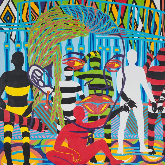 Boris Nzebo, 'Natasha', 2017, Jack Bell Gallery