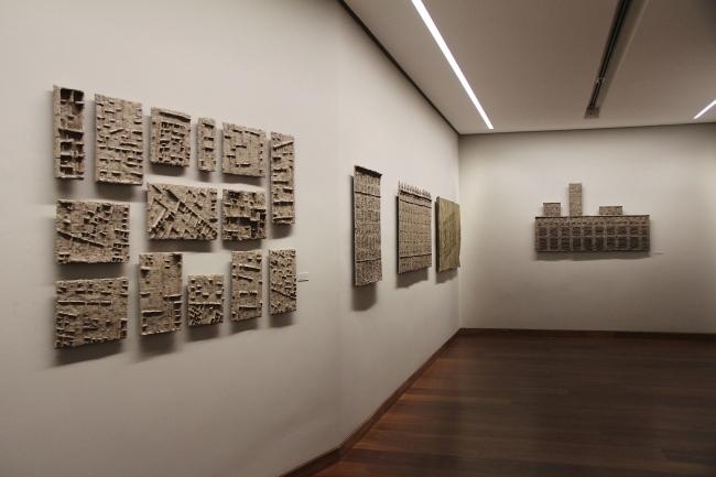"Alexander Brodsky, photo Michaela Schöpke, 2015, Tschoban Museum ""Convergence Points"""