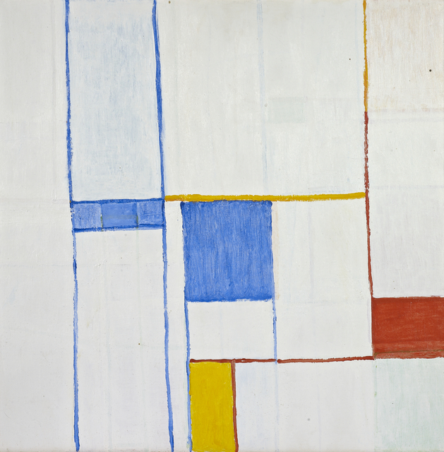 Charlotte Park, 'Gerardia', 1975, Painting, Acrylic and oil crayon on canvas, Berry Campbell Gallery