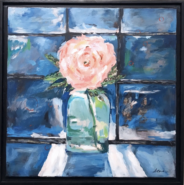 , 'Through the Blooming Window,' 2019, {9} The Gallery