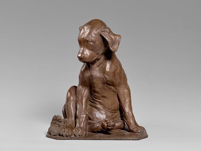 , 'Bronze Sculpture of a Dog,' ca. 1924, Brun Fine Art