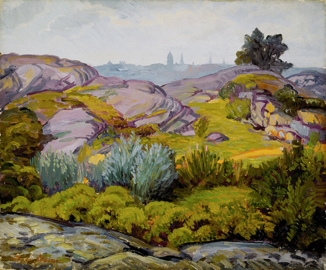 , 'Path through Rocks and Bushes,' 1914, Delaware Art Museum
