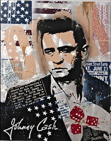 Michel Friess, 'Johnny Cash', 2013, Soho Contemporary Art