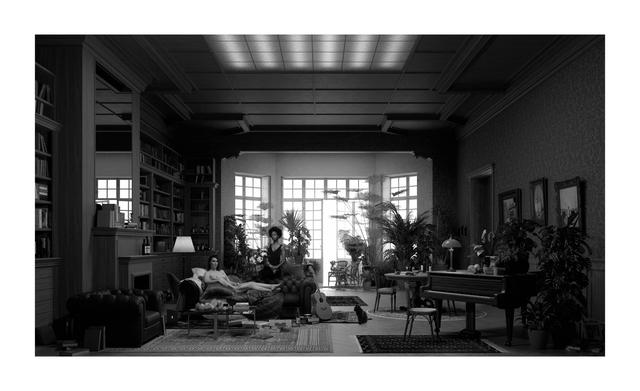 , 'Room (9) (Manet),' 2017, Galerie Krinzinger