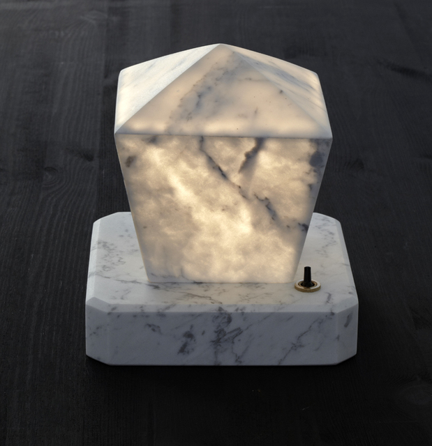 , 'Adaptations: Marble Table Lamp,' 2015, CAMP DESIGN GALLERY