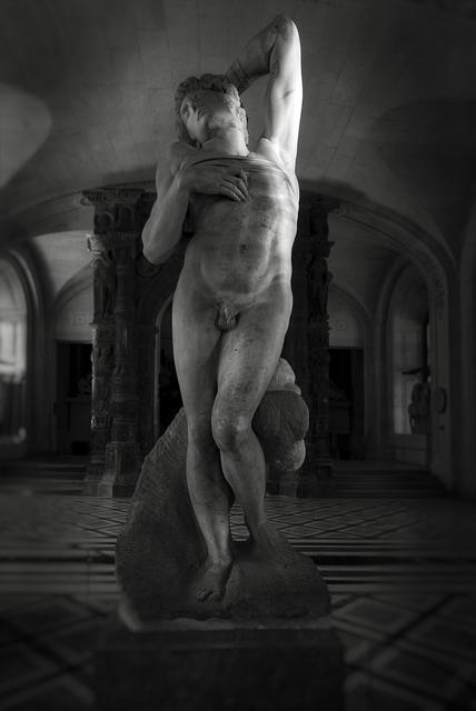 , 'Louvre: Michelangelo Buonarroti, Dying Slave,' 2018, Gallery Fritz