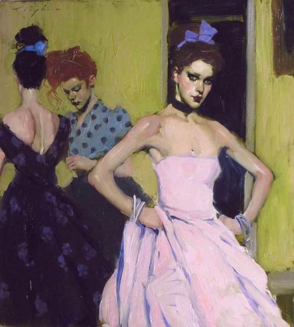 , 'Three Models,' 2012, Pontone Gallery