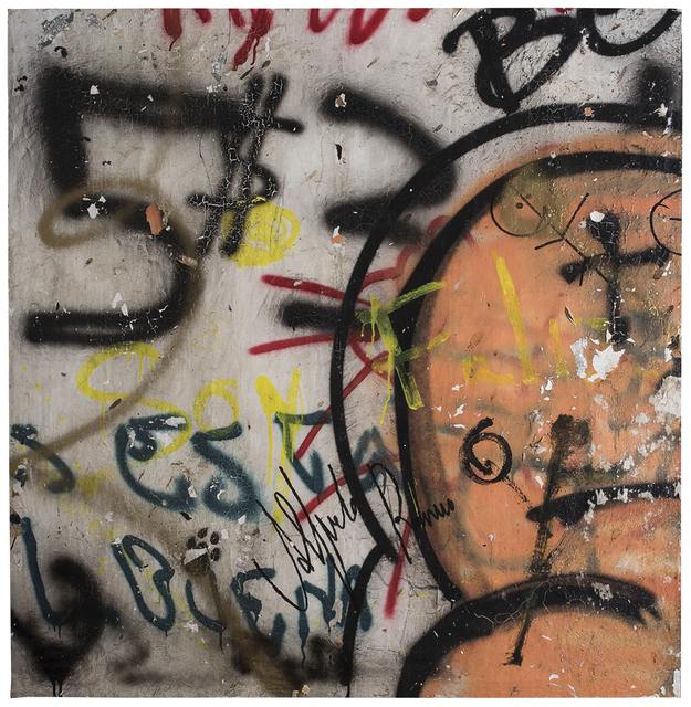 , 'GRAFFITI SOY FELIZ,' 2018, LA SALA
