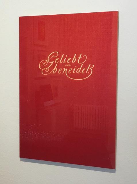 , 'o.T. oder Geliebt und beneidet (Buchtitel),' 2000, Sebastian Fath Contemporary