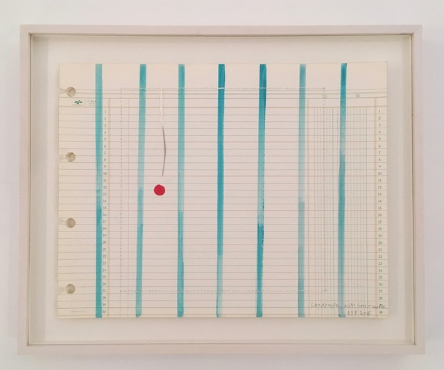 , 'Landscape with trees and needle, #10,' 2015, Travesia Cuatro