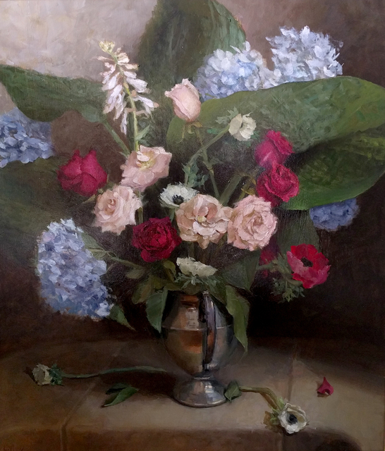 , 'Anemone, Hosta, Rose,' , Somerville Manning Gallery