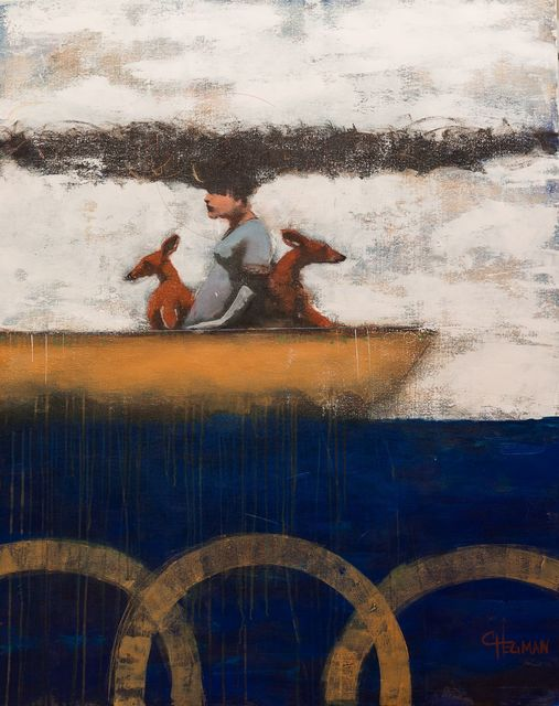 Cathy Hegman, 'Long Boats Peaceful Journey', 2019, TEW Galleries