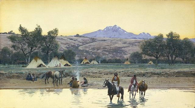 , 'The Crossing ,' 1908, Blanton Museum of Art