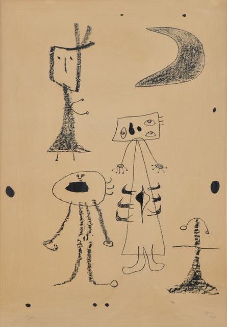 Joan Miró, 'Femmes', 1948, Wallector