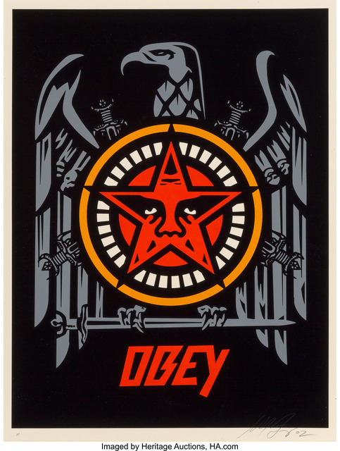 Shepard Fairey (OBEY), 'Slayer Eagle', 2002, Heritage Auctions