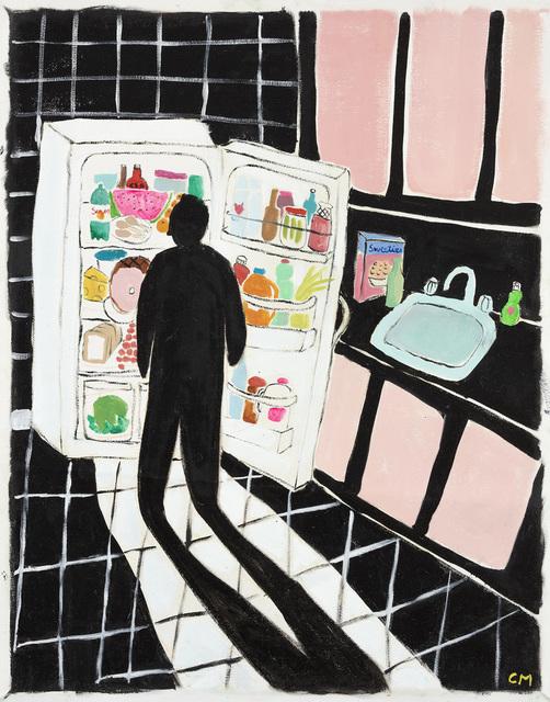 , 'Black Kitchen,' 2018, Steve Turner