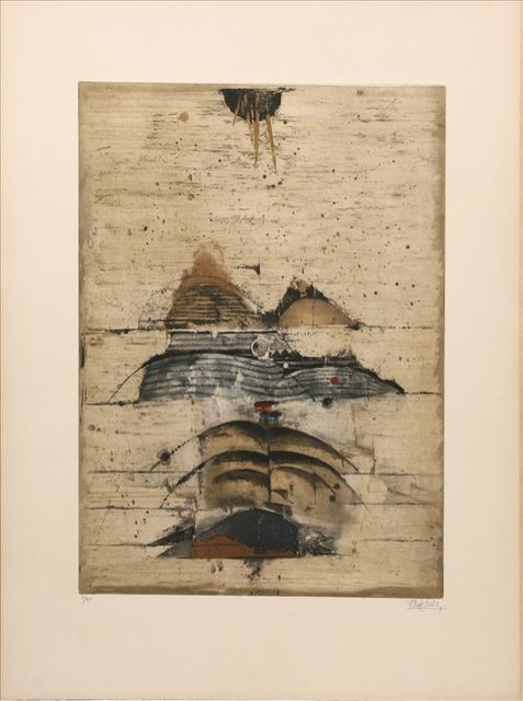 Johnny Friedlaender, 'Paysage ', 1963, Print, Etching on paper, Le Coin des Arts