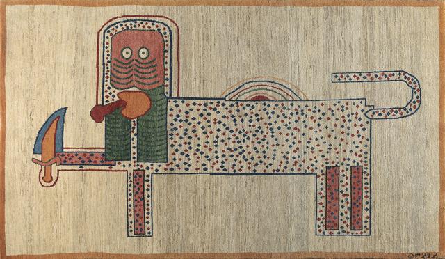 Parviz Tanavoli, 'Lion and Sword IV', 1974, Meem Gallery