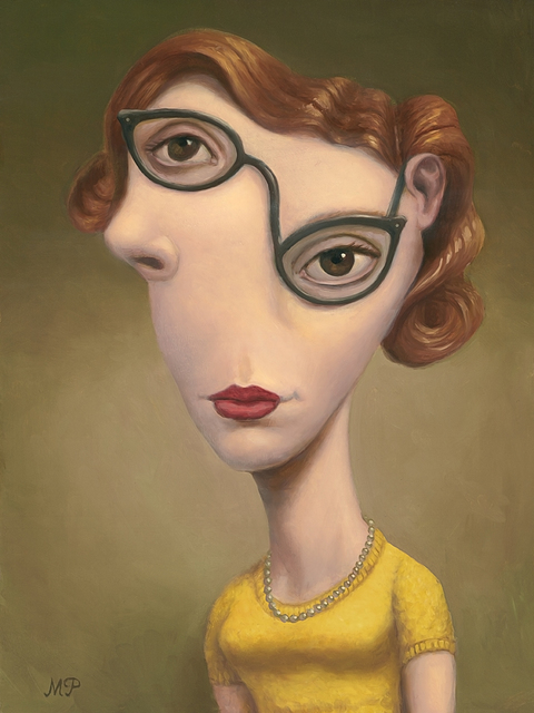 , 'Girl With Cat Eye Glasses,' 2018, Dorothy Circus Gallery