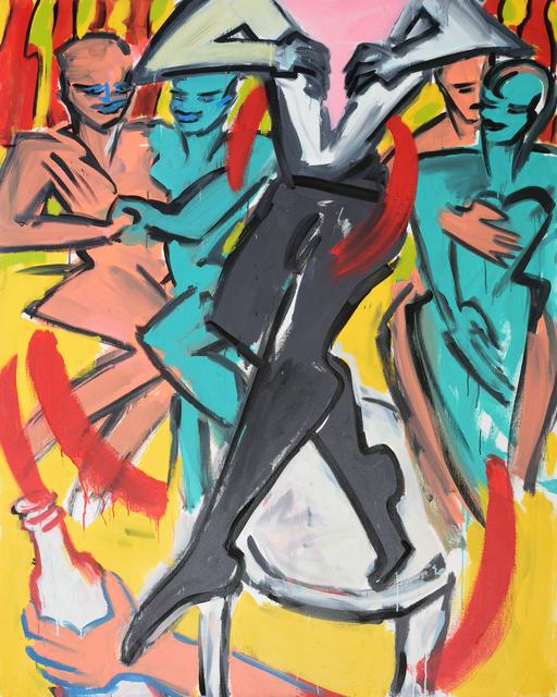 , 'Wenn es Nacht wird in Berlin,' 1983, Galerie Kornfeld