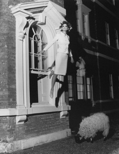 , 'Untitled (Model Flying from Window),' 1995, PDNB Gallery