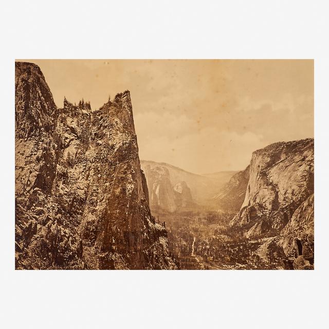 Eadweard Muybridge, 'Valley of the Yosemite from Union Point', 1872, Rago